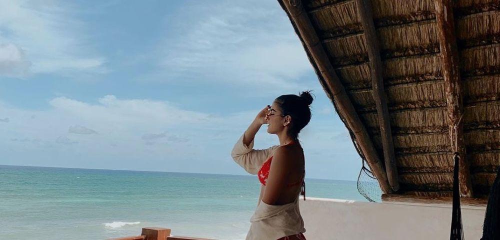 Hija de Bárbara de Regil deslumbra con su belleza desde Tulum, Quintana roo