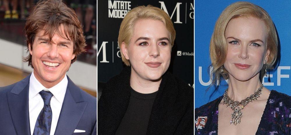 La hija de Nicole Kidman y Tom Cruise publicó una selfie muy rara