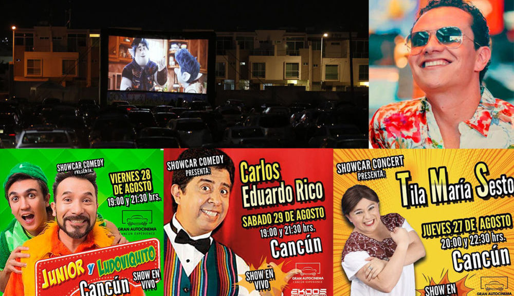 Vuelven la comedia y Conciertos a Cancún con Iskander, Junior y Ludoviquito