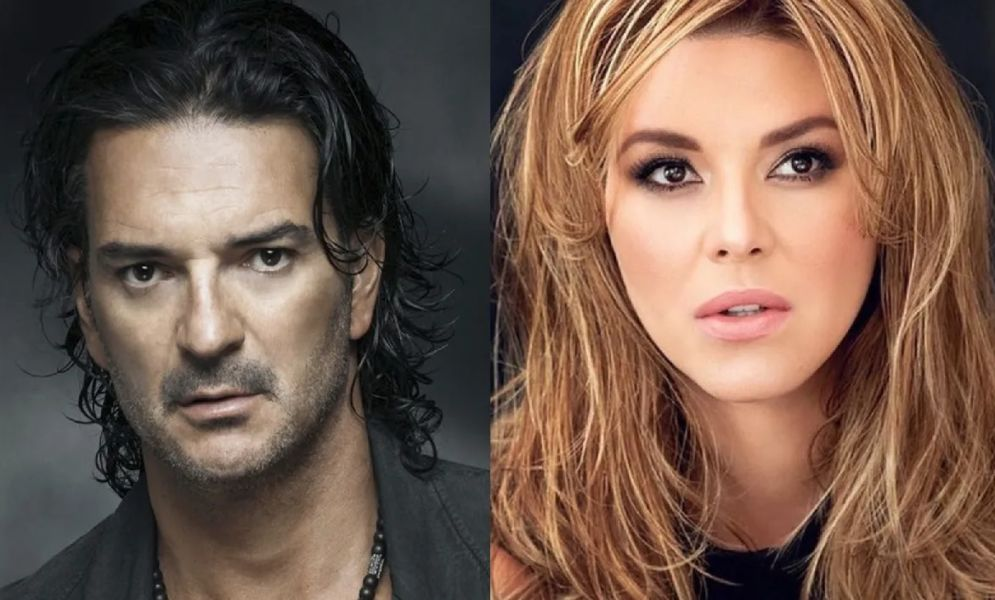 Alicia Machado y Ricardo Arjona