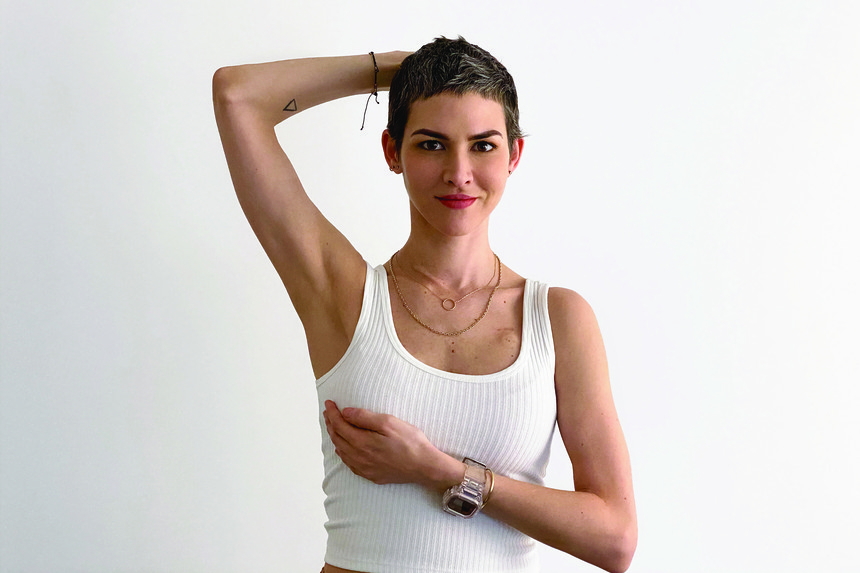 Toca tu pelo, checa tus senos y detecta el cáncer de mama a tiempo