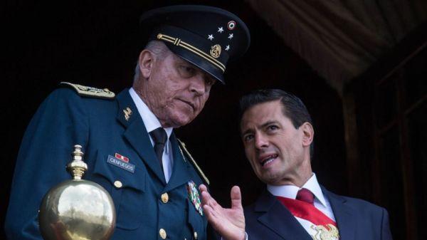 El general Cienfuegos será acusado de cinco cargos por narcotráfico en EUA