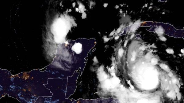 El Huracán Delta ya es categoría 2 ¿Cuándo impactará a Cancún?