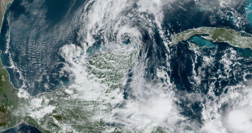 viene la tormenta Delta hacia Quintana Roo