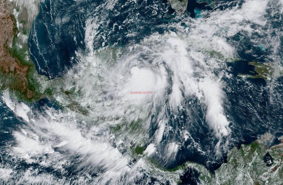 Actualización: La tormenta tropical Zeta impactará Cozumel hoy lunes