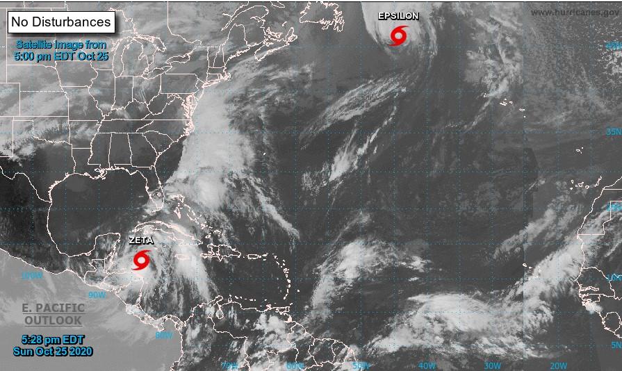 Zeta llegará como huracán a Quintana Roo mañana