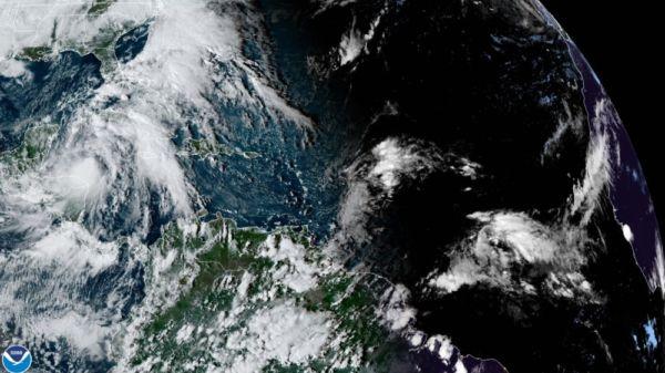 Emiten alerta verde por Tormenta tropical Zeta en Quintana Roo