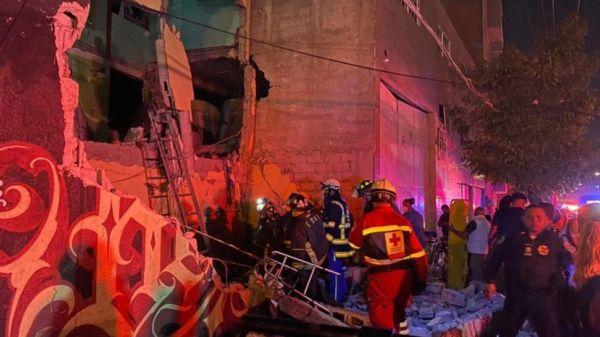 CDMX: Explosión de gas deja varias personas entre escombros