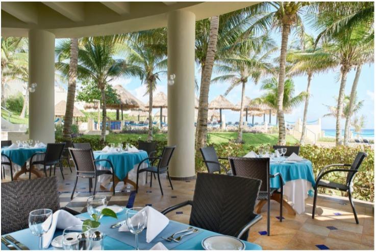 Restaurantes en el Occidental Tucancún